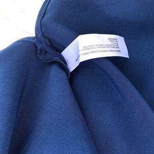 Eloquii Tops - NWT! Eloquii one shoulder royal blue blouse S 22